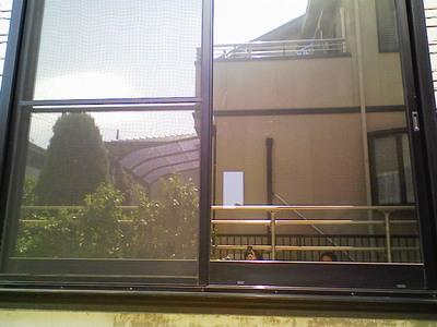 アンバー35施工完了外側より撮影