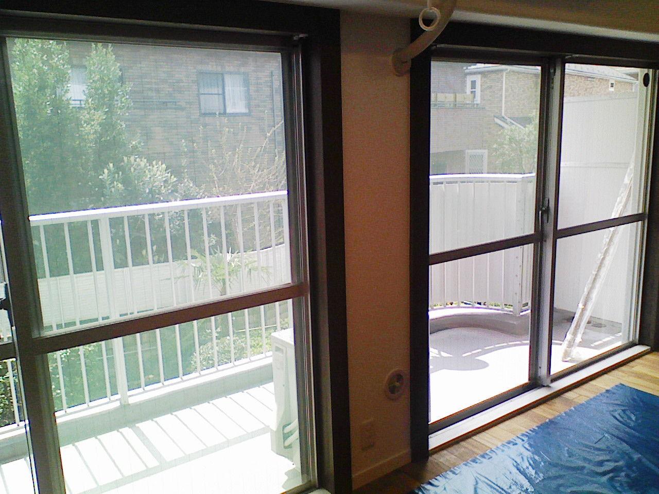 ライトニッケル50施工完了室内側より撮影
